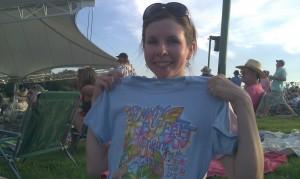 JB souvenir t-shirt